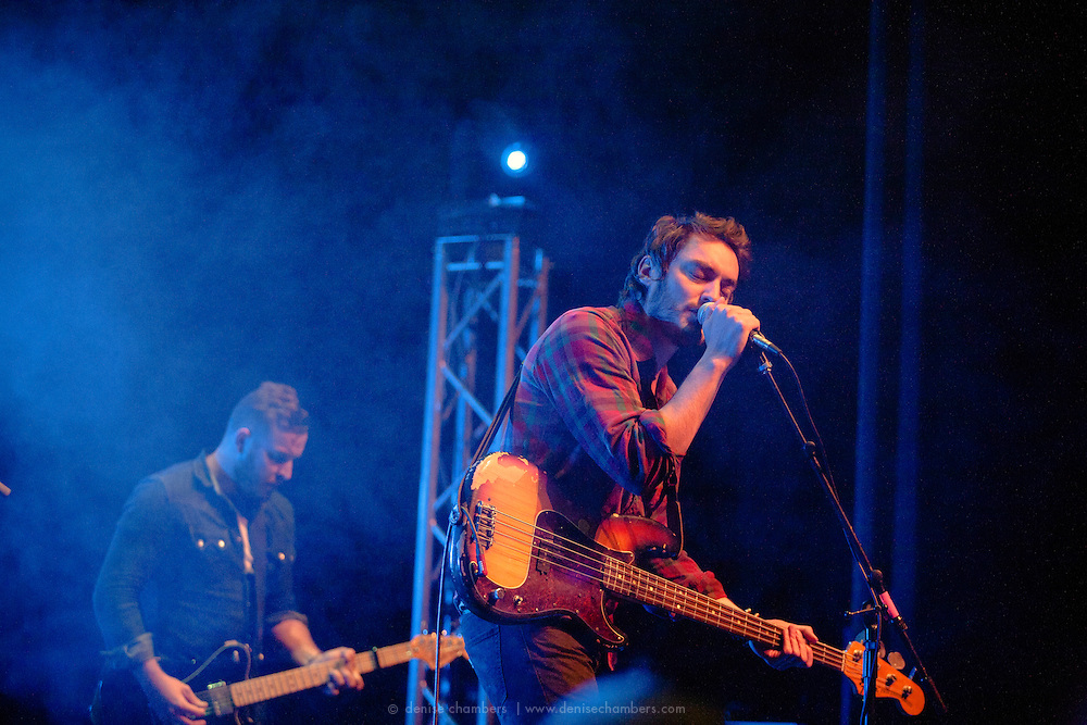 Steven and Andrew McKellar of Civil Twilight perform on March 24, 2014 at the Pikes Peak Center in Colorado Springs, Colorado