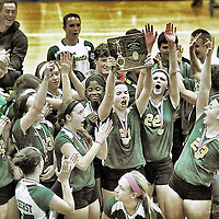 10.24.2013 Amherst Steele vs Elyria Volleyball