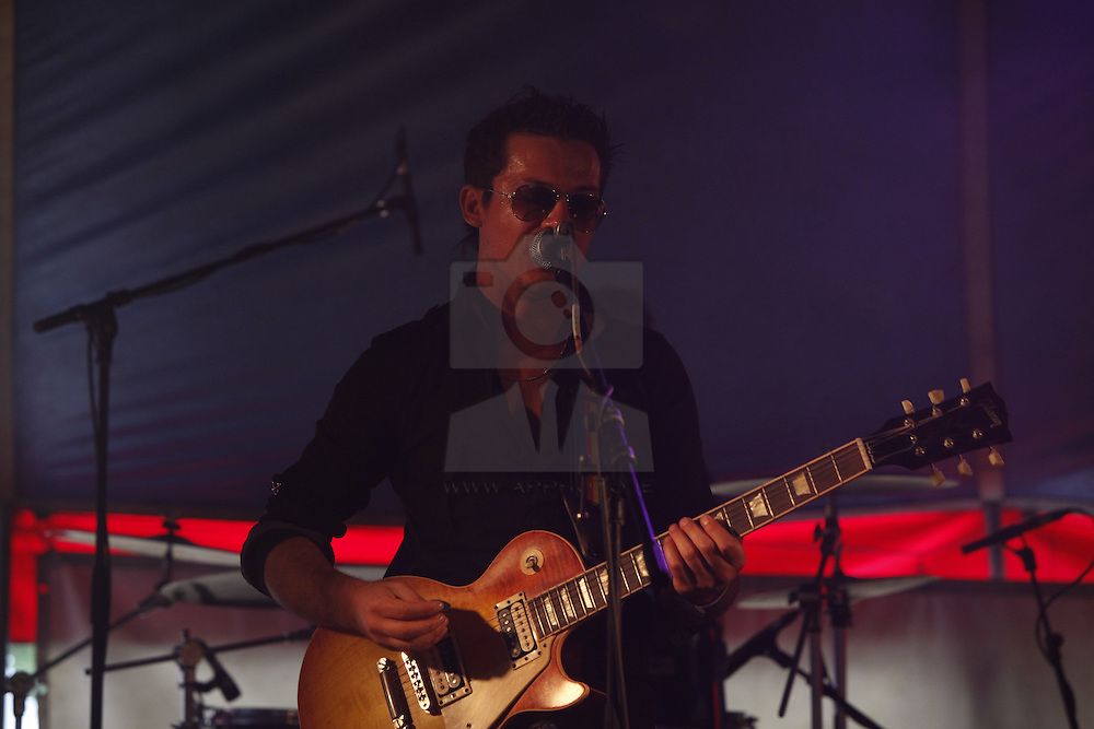 Dave Payton performing live at the Castle Palooza music festival 2010. Pic Andres Poveda