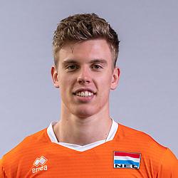 Gijs van Solkema of Netherlands, Photoshoot selection of Orange men's volleybal team season 2021on may 11, 2021 in Arnhem, Netherlands (Photo by RHF Agency/Ronald Hoogendoorn)