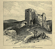 The Castle of Zerin (Jezreel) [Ottoman-era fortified tower] Engraving on Wood from Picturesque Palestine, Sinai and Egypt by Wilson, Charles William, Sir, 1836-1905; Lane-Poole, Stanley, 1854-1931 Volume 2. Published in New York by D. Appleton in 1881-1884