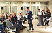 DEN HAAG -  Max Caldas. KNHB Technisch Kader Congres ' Coach the game' bij EY in Den Haag. FOTO KOEN SUYK