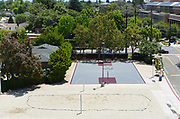 Chapman University Residences, Volleyball and Basketball Courts on Campus at Chapman University