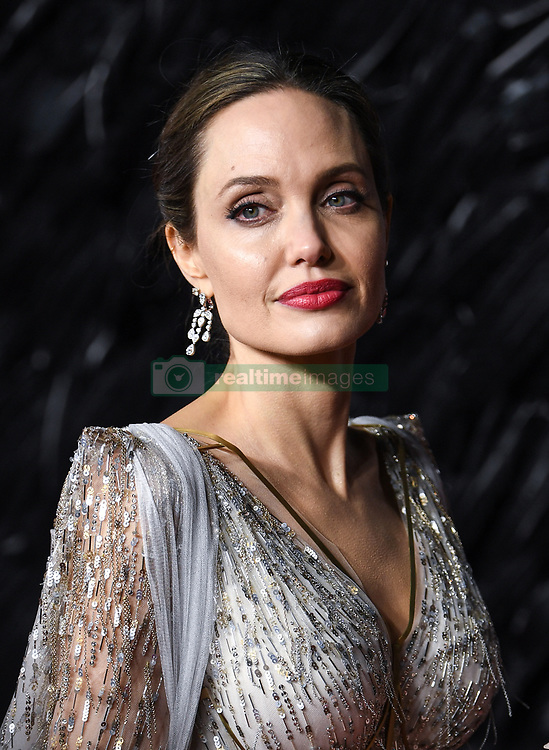 Angelina Jolie attending the European premiere of Maleficent: Mistress of Evil, held at the Odeon IMAX Waterloo, in London. Picture credit should read: Doug Peters/EMPICS