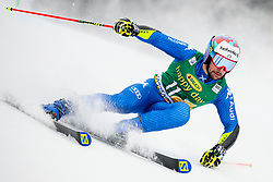 Luca De Aliprandin of Italy competes during 1st run of Men's GiantSlalom race of FIS Alpine Ski World Cup 57th Vitranc Cup 2018, on March 3, 2018 in Kranjska Gora, Slovenia. Photo by Ziga Zupan / Sportida
