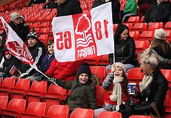 General view as Nottingham Forest fans enjoy the high winds - Mandatory byline: Jack Phillips / JMP - 07966386802 - 5/12/2015 - FOOTBALL - The City Ground - Nottingham, Nottinghamshire - Nottingham Forest v Fulham - Sky Bet Championship