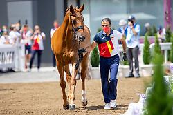 Garcia Mena Jose Antonio, ESP, Divina Royal 124<br /> Olympic Games Tokyo 2021<br /> © Hippo Foto - Dirk Caremans<br /> 23/07/2021