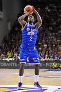 DESCRIZIONE : Beko Legabasket Serie A 2015- 2016 Dinamo Banco di Sardegna Sassari - Enel Brindisi<br /> GIOCATORE : Durand Scott<br /> CATEGORIA : Tiro Libero Ritratto<br /> SQUADRA : Enel Brindisi<br /> EVENTO : Beko Legabasket Serie A 2015-2016<br /> GARA : Dinamo Banco di Sardegna Sassari - Enel Brindisi<br /> DATA : 18/10/2015<br /> SPORT : Pallacanestro <br /> AUTORE : Agenzia Ciamillo-Castoria/C.Atzori