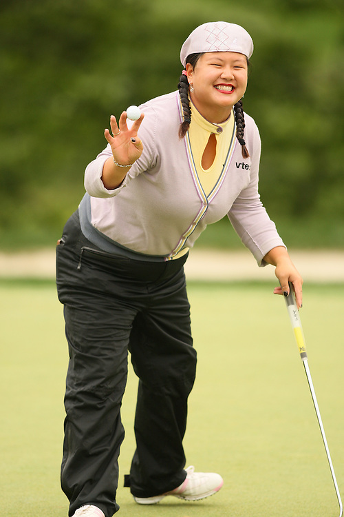 Christina Kim during the fourth round of the 2008 Michelob Ultra Open in Williamsburg, Virginia at Kingsmill Resort on Sunday, May 11, 2008. .