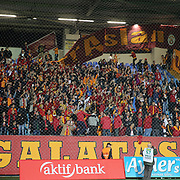 Galatasaray's supporters during their Turkish Super League soccer match Caykur Rizespor between Galatasaray at the Yeni Rize Sehir stadium in Rize Turkey on Saturday, 07 November 2015. Photo by TVPN/TURKPIX