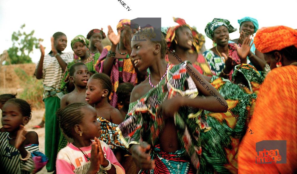 Girls at an event - Podor Senegal