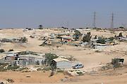 Israel, Negev Desert. Unrecognized, Beduin Shanty township