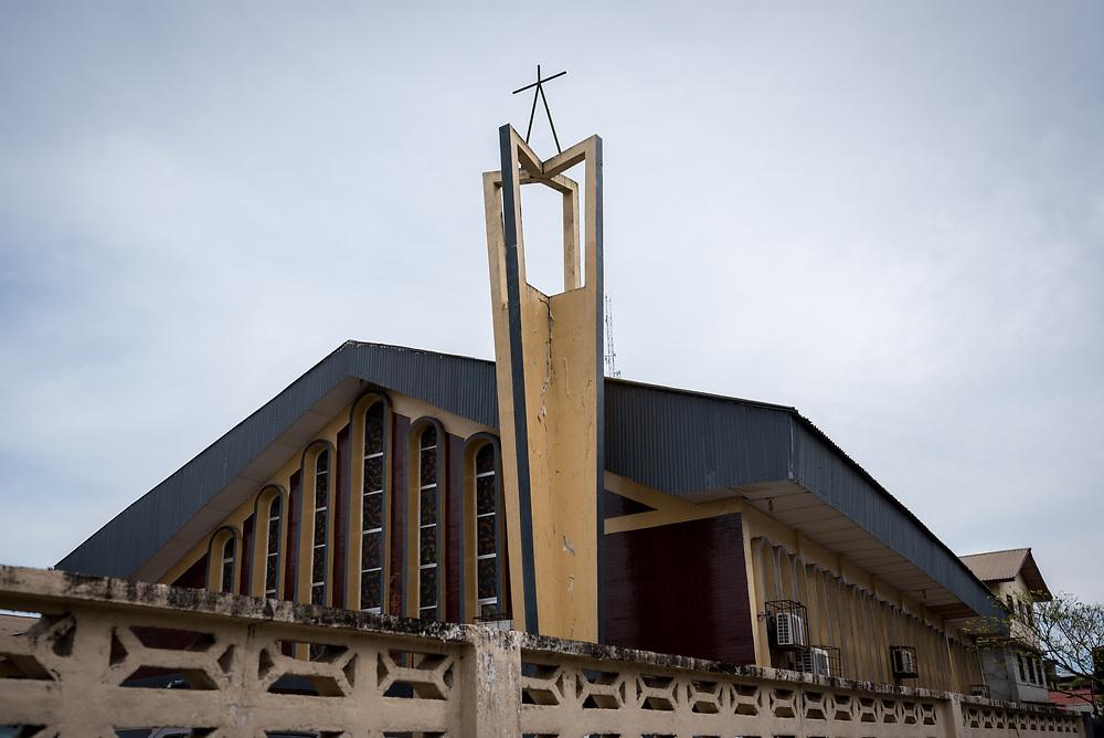 31 October 2019, Monrovia, Liberia: Saint Peter Lutheran Church.