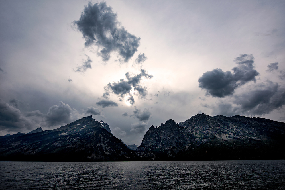 Jenny Lake, Grand Teton National Park, Moose, Wyoming