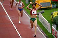 Friidrett , 12. juli 2006 , Gøteborg , EM ,<br /> Europamesterskapet ,<br /> Athletics , European  Championship <br /> Alesia Turava , BLR winner 3000 m steeplechase