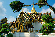Detail of the Grand Palace (the King's Palace), Bangkok, Thailand
