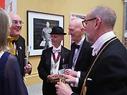 HUMPHREY OCEAN; DAVID RENFRY; ALLEN JONES; CHRISTOPHER LE BRUNRoyal Academy of Arts Annual Dinner. Burlington House, Piccadilly. London. 6 June 2017