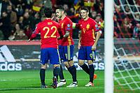 Spain's Isco Aritz Aduriz Vitolo Machin  during the match of European qualifying round between Spain and Macedonia at Nuevo Los Carmenes Stadium in Granada, Spain. November 12, 2016. (ALTERPHOTOS/Rodrigo Jimenez)