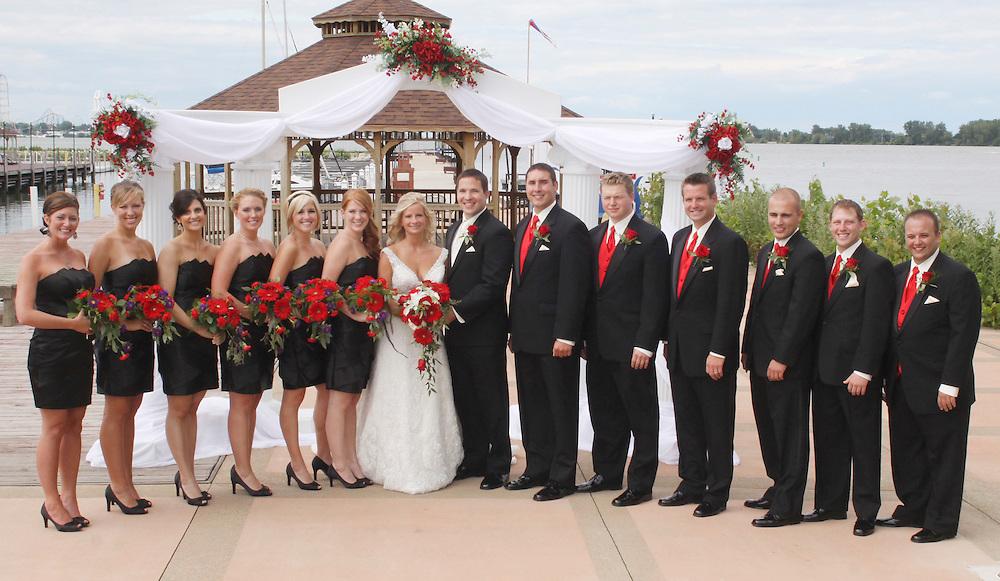 Wedding Party Sandusky Ohio Cleveland Wedding Photography