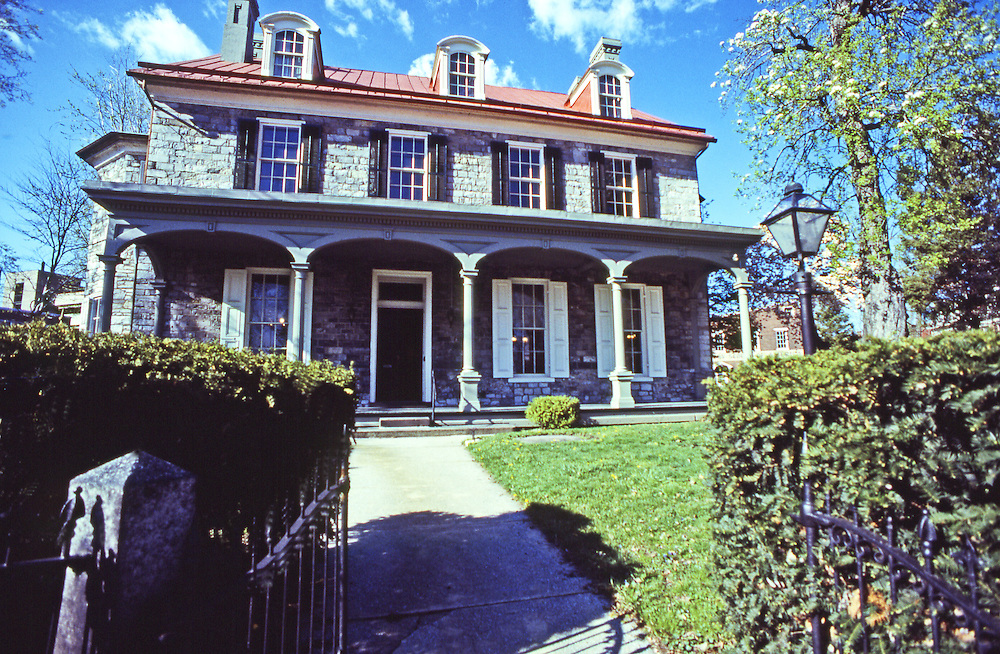 John Harris-Simon Cameron Mansion, Dauphin County Historical Society, South Front Street, Harrisburg, Pennsylvania