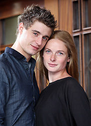 Max Irons who plays King Edward and Rebecca Ferguson who plays The White Queen  in the new BBC Drama series.   Photo by: Stephen Lock / i-Images