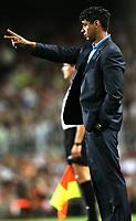 Fotball<br /> Barcelona v Juventus 4-6<br /> Trofe Joan Gamper<br /> 24.08.2005<br /> Foto: imago/Digitalsport<br /> NORWAY ONLY<br /> <br /> Trainer Frank Rijkaard (FC Barcelona)