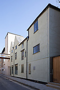 Bannister Building, Brewer Street. Pembroke College New Build on completion March 2013. Oxford, UK