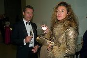 SUSANNE WOJNAR; WOLFGANG KAISER, Dinner at the Museum der Moderne. Salzburg.  Amadeus Weekend. Salzburg. 23 August 2008.  *** Local Caption *** -DO NOT ARCHIVE-© Copyright Photograph by Dafydd Jones. 248 Clapham Rd. London SW9 0PZ. Tel 0207 820 0771. www.dafjones.com.