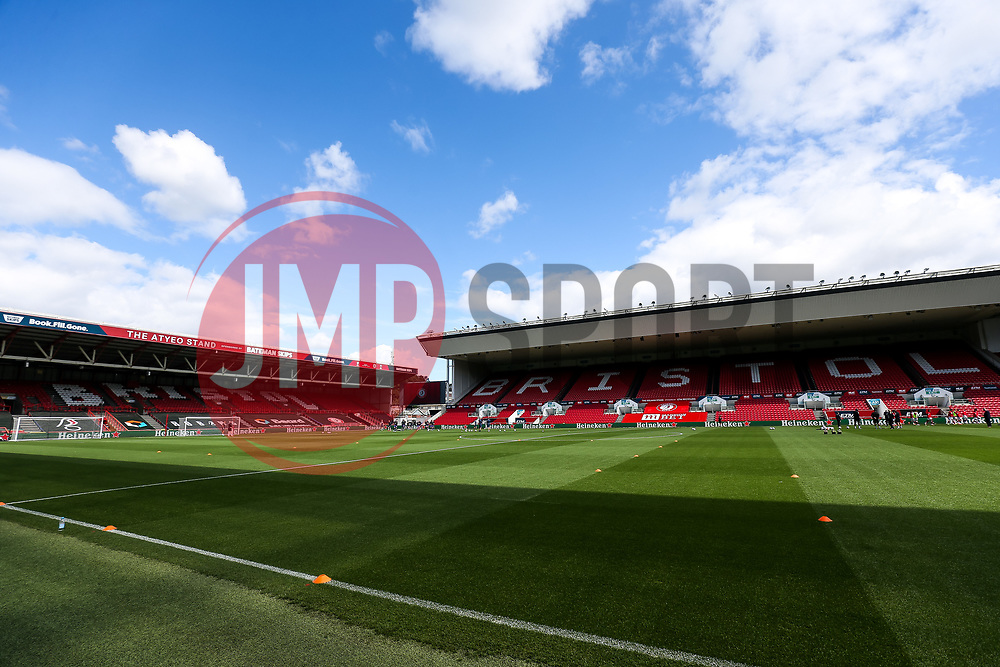 General View - Rogan/JMP - 05/09/2020 - Ashton Gate Stadium - Bristol, England - Bristol City v Exeter City - Carabao Cup First Round.