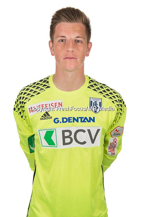 30.08.2016; Lausanne; Fussball Super League - Portrait FC Lausanne;<br /> Torhueter Kevin Martin<br /> (HO/freshfocus)