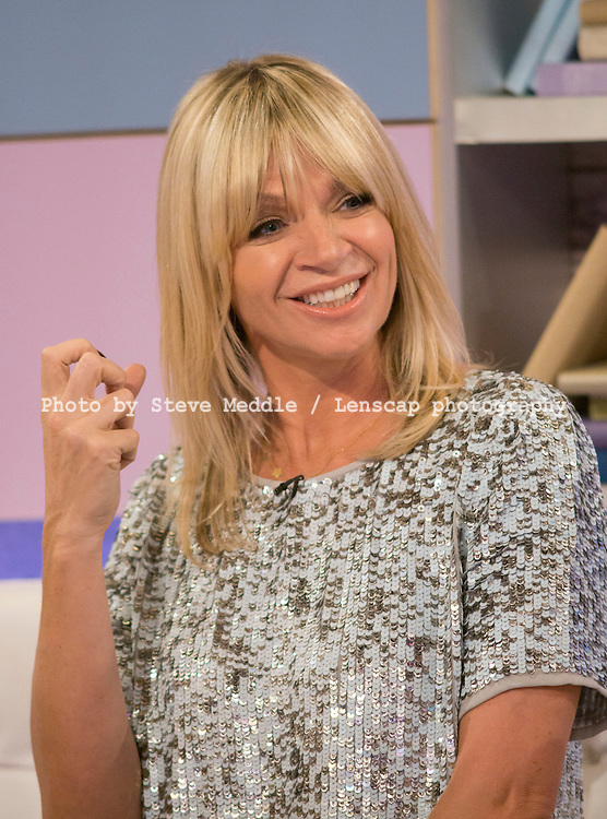 Zoe Ball / Loose Women Live on ITV / Image Can be licensed for use at www.rexfeatures.com