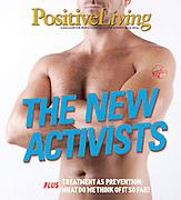Positive Living Magazine cover