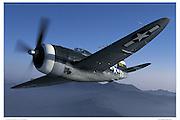 P-47G, air-to-air