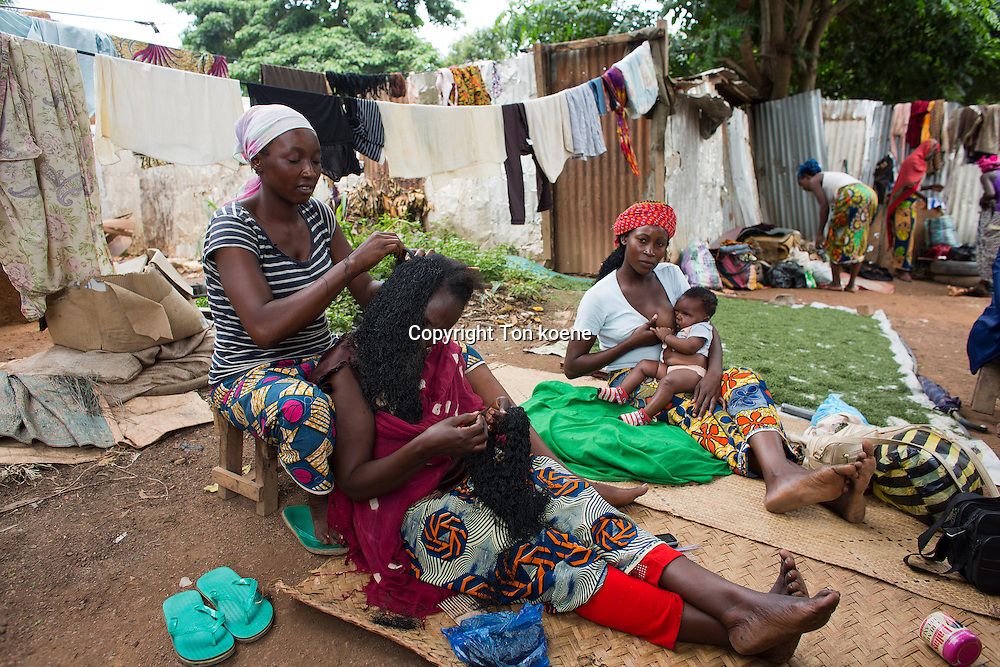 Muslims are displaced by violence in CAR