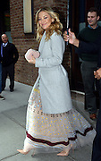 April 28, 2016 - New York City, NY, USA - <br /> <br /> Actress Kate Hudson leaves a downtown hotel on April 28 2016 in New York City  <br /> ©Exclusivepix Media
