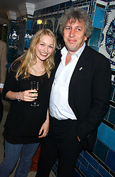 ROD LIDDLE and ALICIA MONCKTON at the No Campaign's Summer Party - a celebration of the 'Non' and 'Nee' votes in the Europen referendum in France and The Netherlands held at The Peacock House, 8 Addison Road, London W14 on 5th July 2005.<br /><br />NON EXCLUSIVE - WORLD RIGHTS