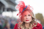 November 3, 2018: Breeders' Cup Horse Racing World Championships. Fancy hat