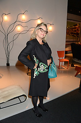 KAY SAATCHI  at the PAD Art and Design Fair 2013 Collectors Preview in Berkeley Square, London on 14th October 2013.