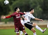 Fotball , 27. januar 2011, Copa del Sol , Rosenborg - Rapid Bucuresti<br /> <br /> Rade Prica  , RBK<br /> Marius Constantin , RB