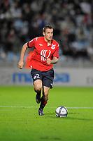 FOOTBALL - FRENCH CHAMPIONSHIP 2010/2011 - L1 - LILLE OSC v PARIS SG - 15/08/2010 - PHOTO JEAN MARIE HERVIO / DPPI - MATHIEU DEBUCHY (LOSC)