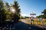 Nederland, Garyp, 14-07-2018<br /> Een fietsknooppunt op de route West-Friesland bij Garyp.<br /> <br /> A cycling point near Garyp.<br /> Foto: Bas de Meijer / De Beeldunie