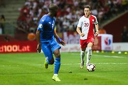 June 10, 2019 - Warsaw, Poland - Piotr Zielinski of Poland during the UEFA Euro 2020 qualifier Group G football match Poland against Israel on June 10, 2019 in Warsaw, Poland. (Credit Image: © Foto Olimpik/NurPhoto via ZUMA Press)