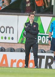 Dundee United's manager Jackie McNamara.<br /> Dundee United 1 v 1 Inverness Caledonian Thistle, SPFL Ladbrokes Premiership game played 19/9/2015 at Tannadice.