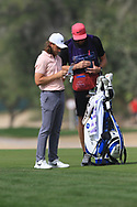 Tommy Fleetwood (ENG) on the 3rd fairway during Round 2 of the Omega Dubai Desert Classic, Emirates Golf Club, Dubai,  United Arab Emirates. 25/01/2019<br /> Picture: Golffile   Thos Caffrey<br /> <br /> <br /> All photo usage must carry mandatory copyright credit (© Golffile   Thos Caffrey)
