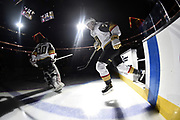 LAS VEGAS, NV - DECEMBER 3: skates against the Arizona Coyotes during the game at T-Mobile Arena on December 3, 2017 in Las Vegas, Nevada. (Photo by Jeff Bottari/NHLI via Getty Images) *** Local Caption ***