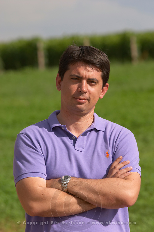 Stefanos Koundouras, agronomist viticulturist. Alpha Estate Winery, Amyndeon, Macedonia, Greece