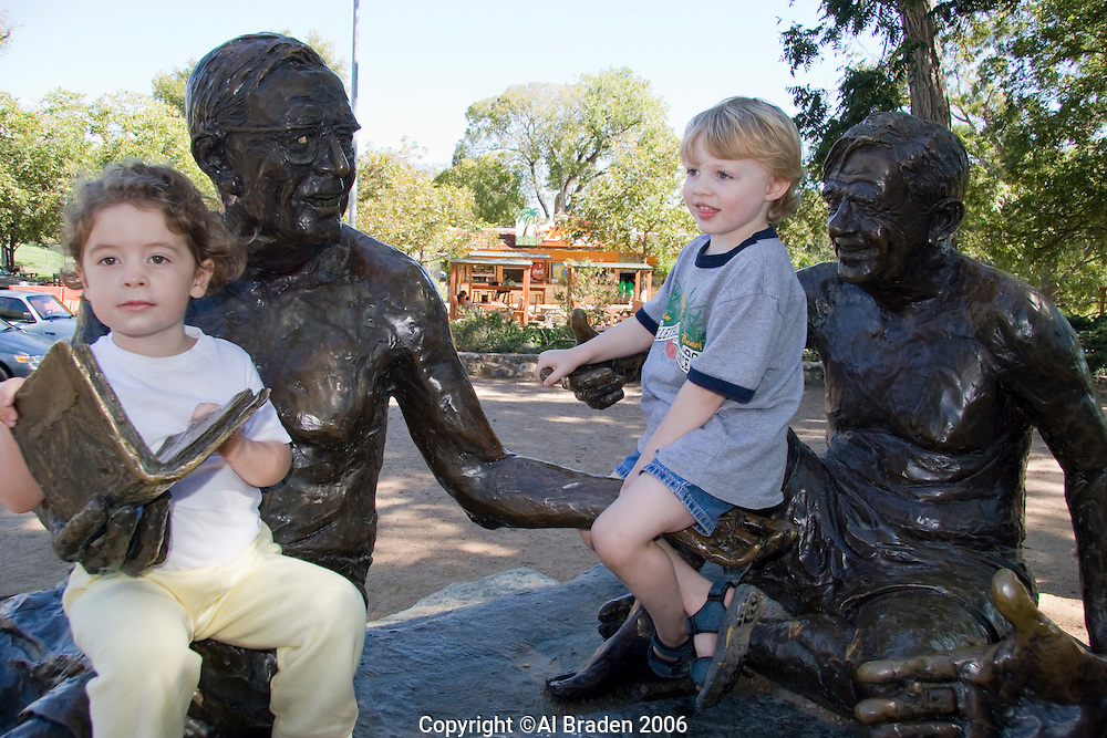 Philosopher's Rock Statue, Barton Springs, Austin, Texas