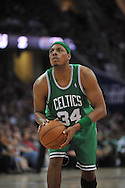 Boston's Paul Pierce..The Cleveland Cavaliers defeated the Boston Celtics 108-84 in Game 3 of the Eastern Conference Semi-Finals at Quicken Loans Arena in Cleveland.