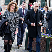 NLD/Naarden/20180330 - Matthaus Passion in de grote kerk van Naarden 2018, Ingrid Engelshoven en partner
