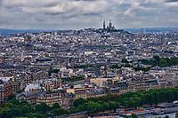 Basilique du Sacre-Coeur & Paris Cityscape